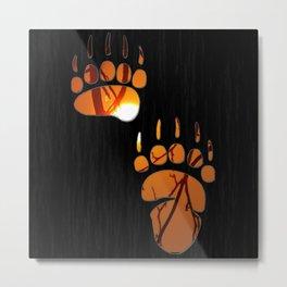 Bear Claw Metal Print