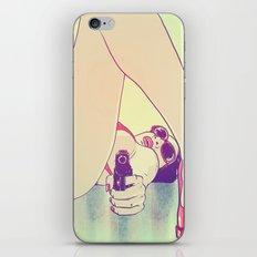 Girl With Gun 2 iPhone Skin