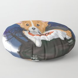Trick or Treat?... Arf! Floor Pillow