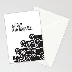 Retour à la normale Stationery Cards