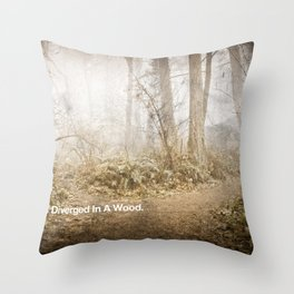 CHARACTER BUILDING EXERCISE Throw Pillow