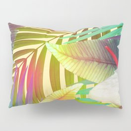 Island Flowers Pillow Sham