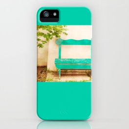 The Green Bench iPhone Case