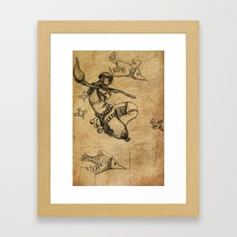 Malnourished Framed Art Print