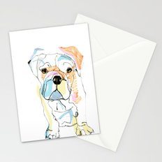 Bulldog Colour Stationery Cards