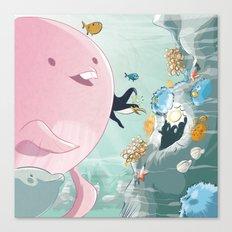 Chloé still underwater Canvas Print