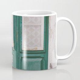 Green Door Coffee Mug