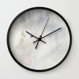 Winter dreams Wall Clock