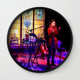 Kawehi in concert Wall Clock