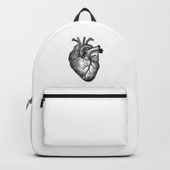 Vintage Heart Anatomy by stilleskyggerart