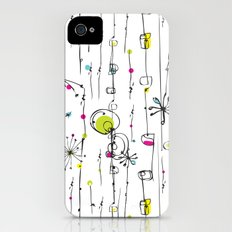 Quirky Icons iPhone (4, 4s) Slim Case