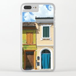 Italian house Clear iPhone Case