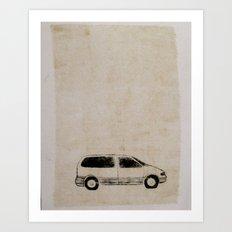 mini van Art Print