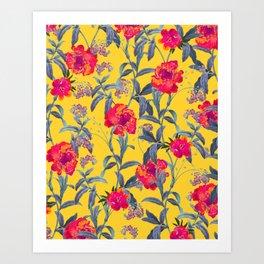 Come Into Blossom #society6 #decor #buyart Art Print