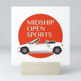 Midship Open Sports Mini Art Print