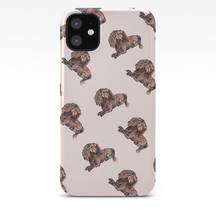 Pug Pattern 2 iphone case