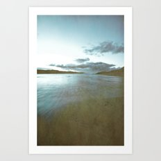 Down by the sea 2 Art Print
