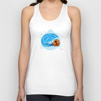 aquarius Tank Tops featuring Aquarius by Giuseppe Lentini
