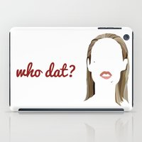 iggy iPad Cases featuring Iggy by Bethany Mallick