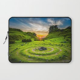 Fairytale Landscape, Isle of Skye, Scotland Laptop Sleeve