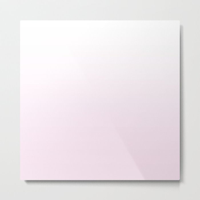 pretty pink gradient Metal Print
