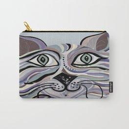 Denim Cat Carry-All Pouch