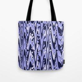 Abstract Iceberg Pattern Tote Bag