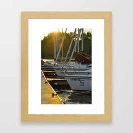A day is done Framed Art Print