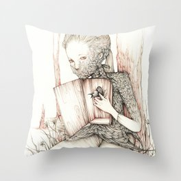 Drawings from personal  series Throw Pillow