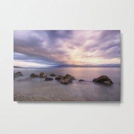 Long exposure seascape Metal Print