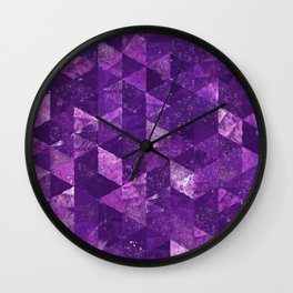 Abstract Geometric Background #35 Wall Clock