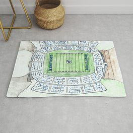 UK, Kentucky Wildcats, Football, Stadium, Lexington Rug