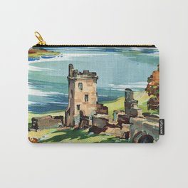 Loch Ness Vintage Travel Poster Carry-All Pouch