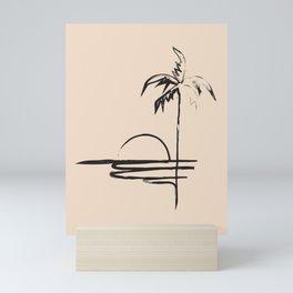 Abstract Landscpe Mini Art Print