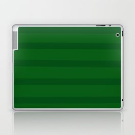 Emerald Green Organic Stripes Laptop & iPad Skin
