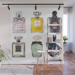Perfume Collection Wall Mural