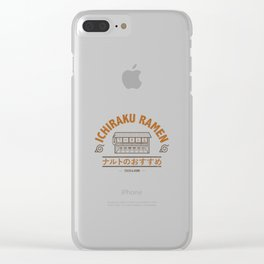Ichiraku Ramen Konohagakure Clear iPhone Case