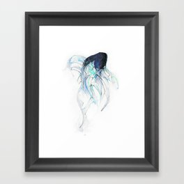 Ghost Fish Framed Art Print