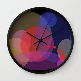 Red Jump Wall Clock