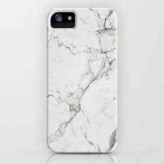White Marble Texture. iPhone (5, 5s) Slim Case