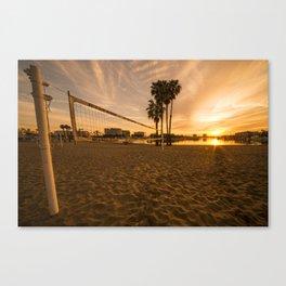 Volley Sunrise  Canvas Print