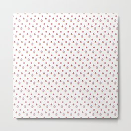 Cupcakes Galore Pattern Metal Print
