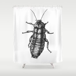 roach Shower Curtain