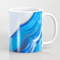 Blue and gold agate Mug