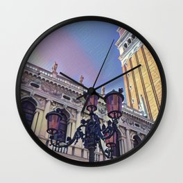 Campanile on the Piazza San Marco Wall Clock