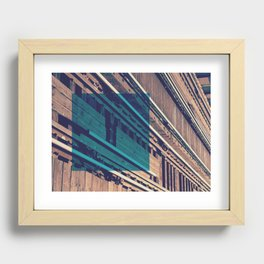 Tracks Recessed Framed Print