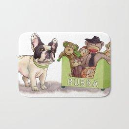 Bubba and His Monkey Toys Bath Mat