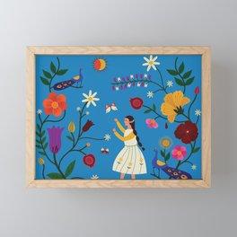 Her Secret Garden Framed Mini Art Print