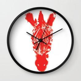 Zebra: The Fire Wall Clock