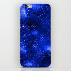 Galaxy Blue iPhone & iPod Skin